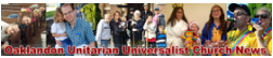 Oaklandon UU Church e-newsletter header